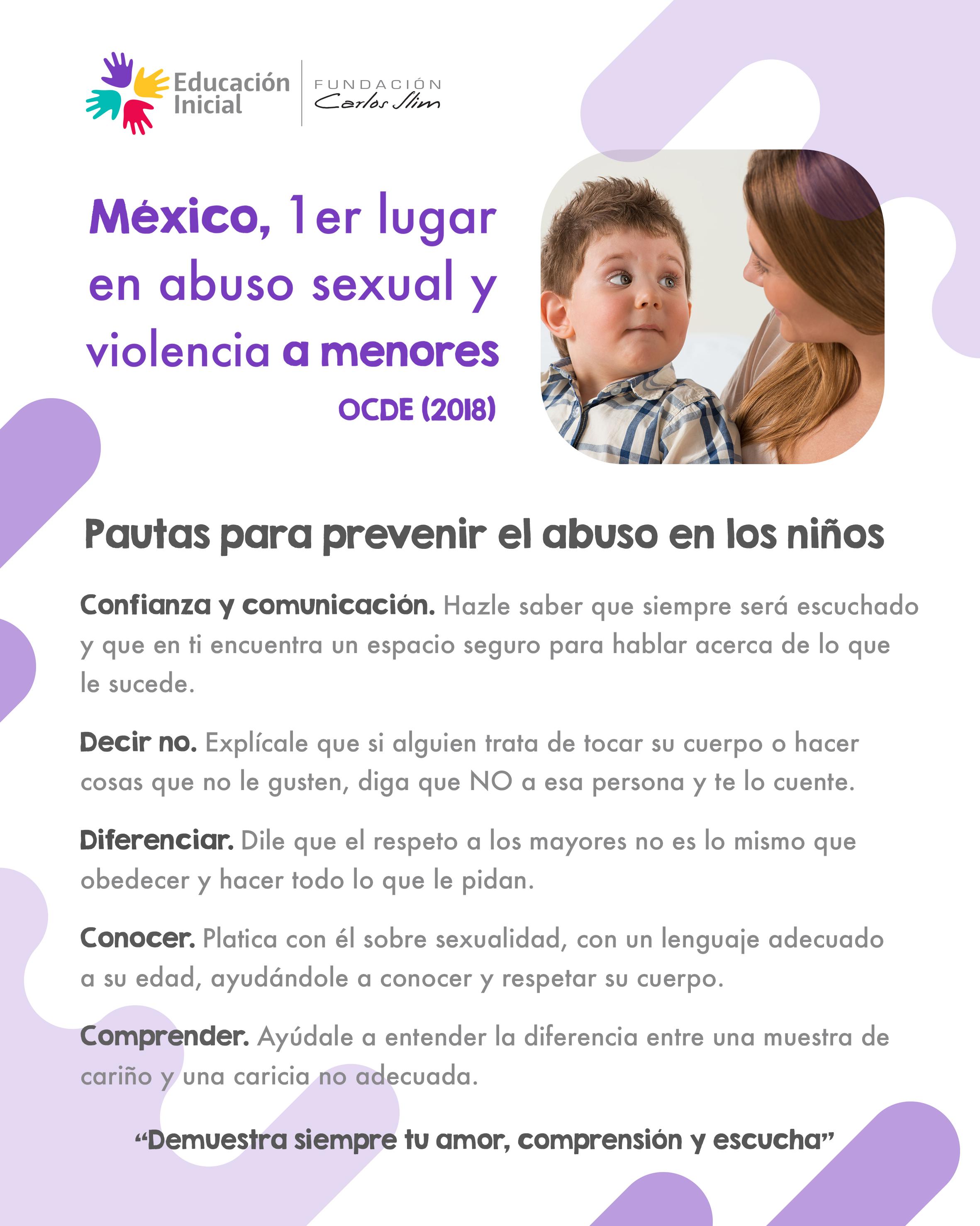 (582) Pautas para prevenir el abuso en los niños