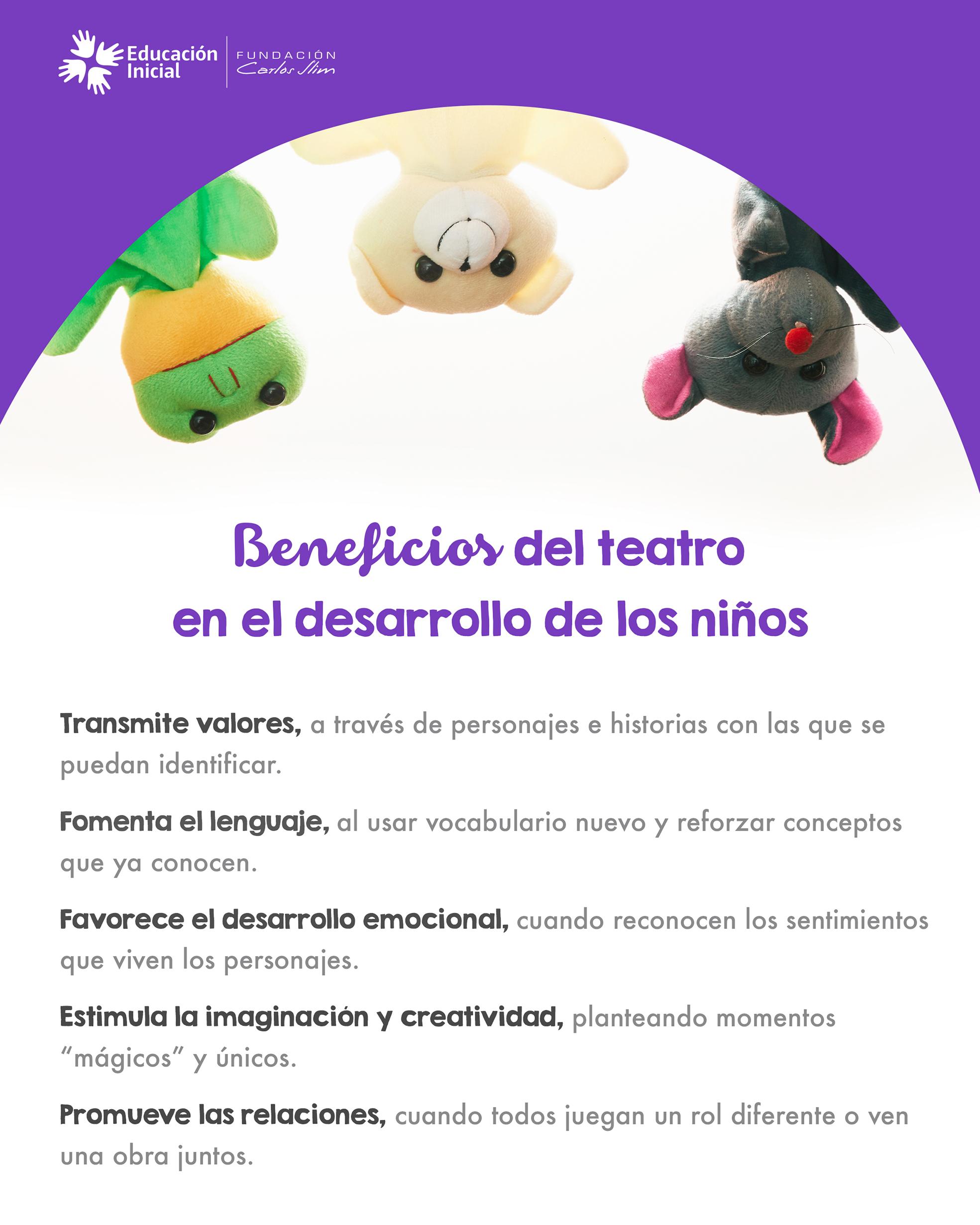 2. Beneficios del teatro en el desarrollo de los niños
