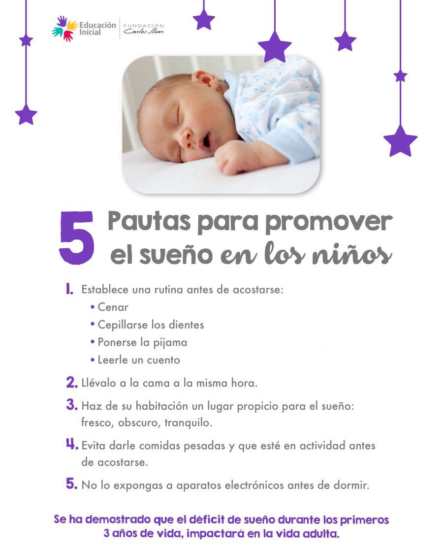 1. 5 pautas para promover el sueño en los niños4 (1)