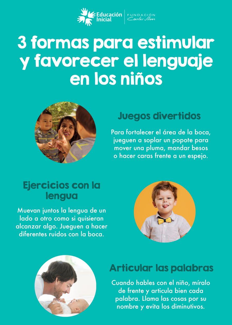 3 formas para estimular y favorecer el lenguaje en los niños 00
