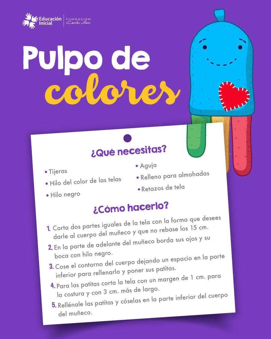 pulpo de colores 2