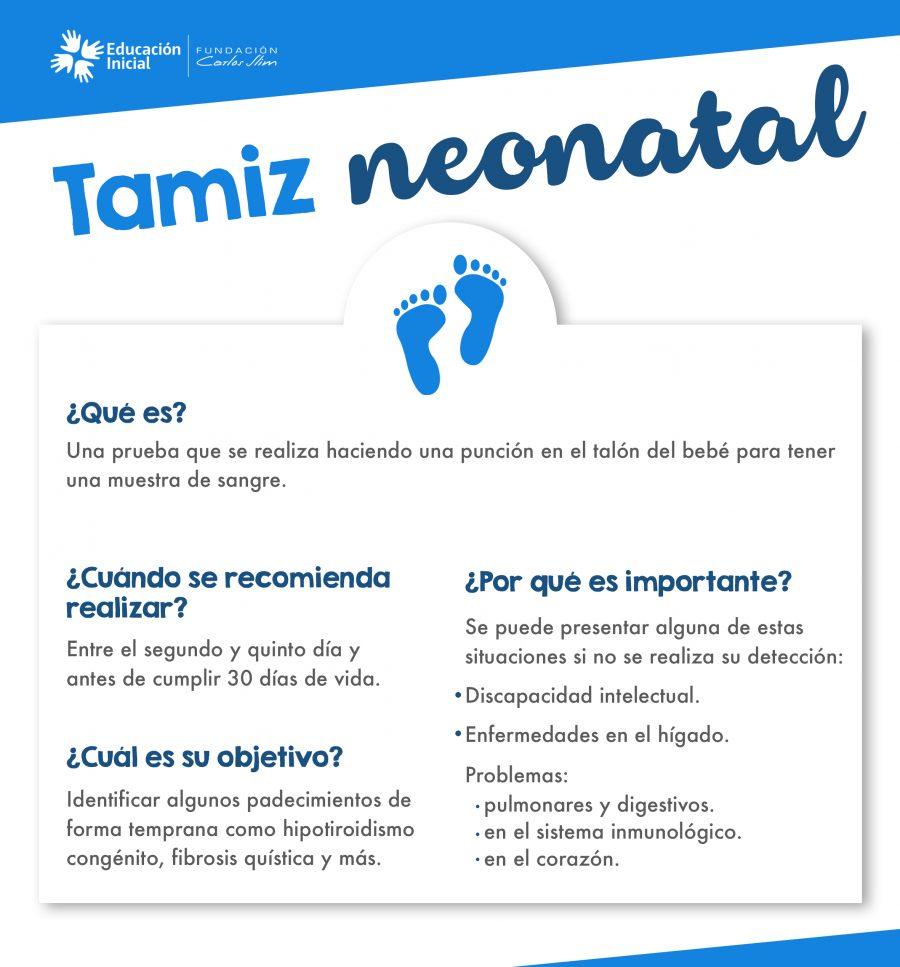 1. Tamiz neonatal