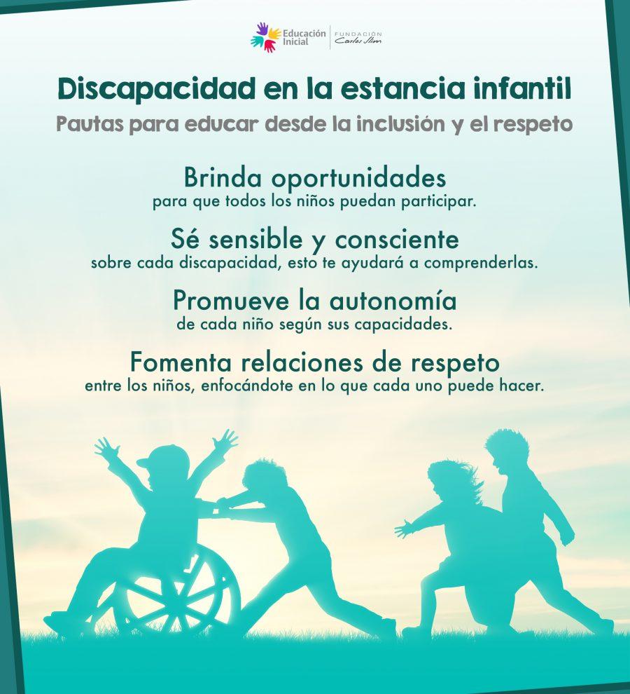 Discapacidad en la estancia infantil