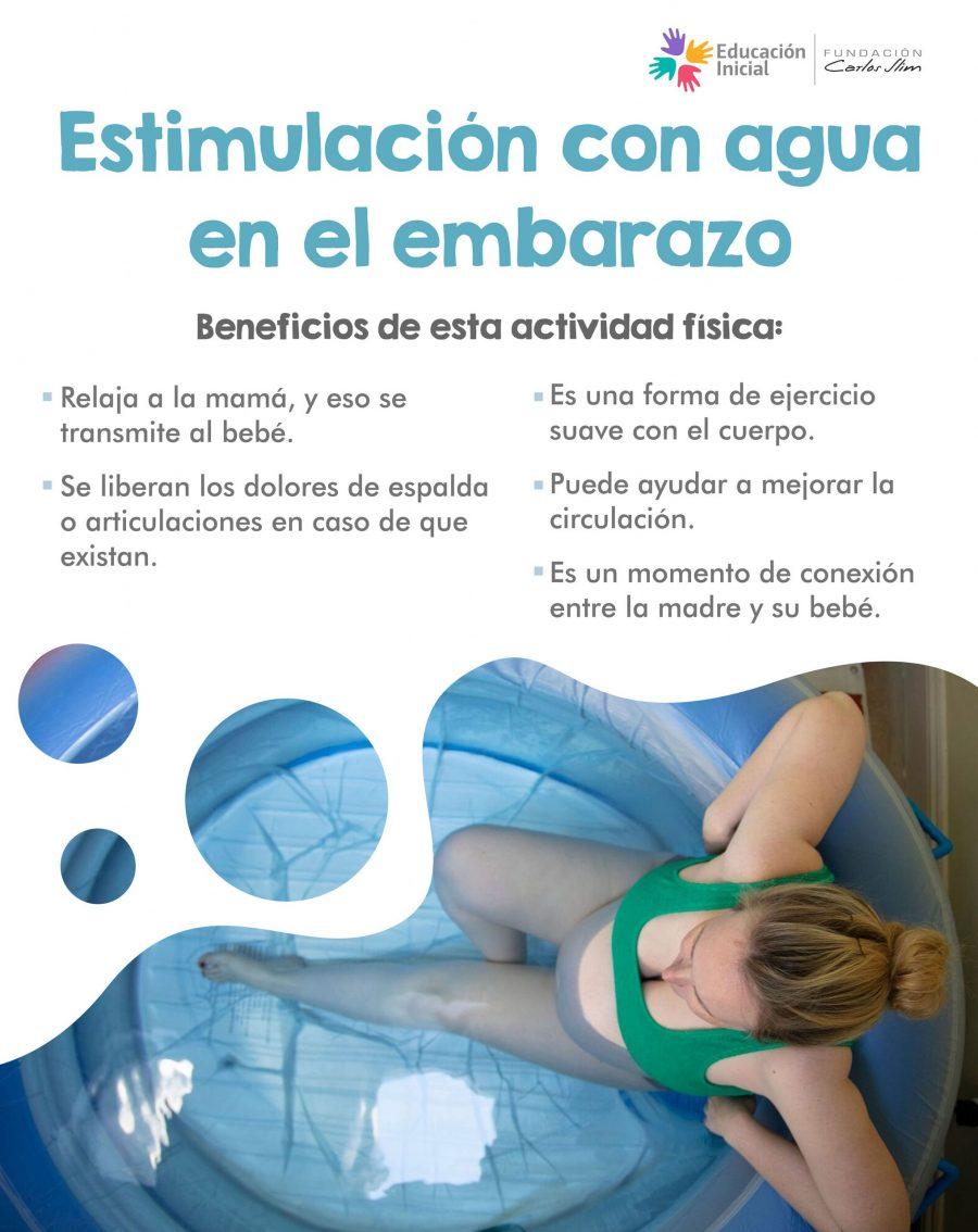 Estimulación con agua en el embarazo