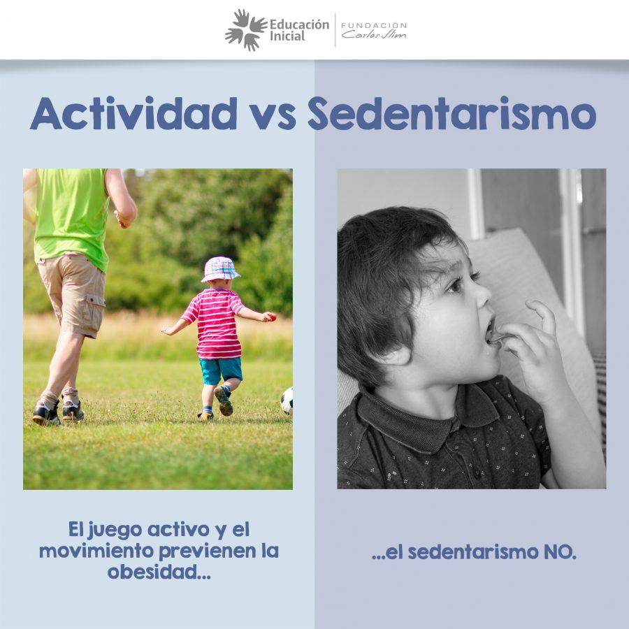 Actividad vs sedentarismo