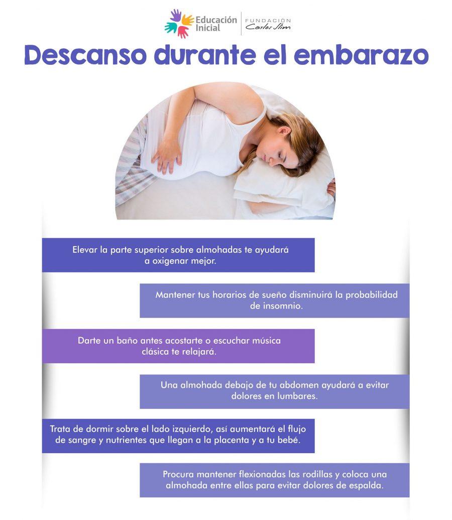 Descanso durante el embarazo