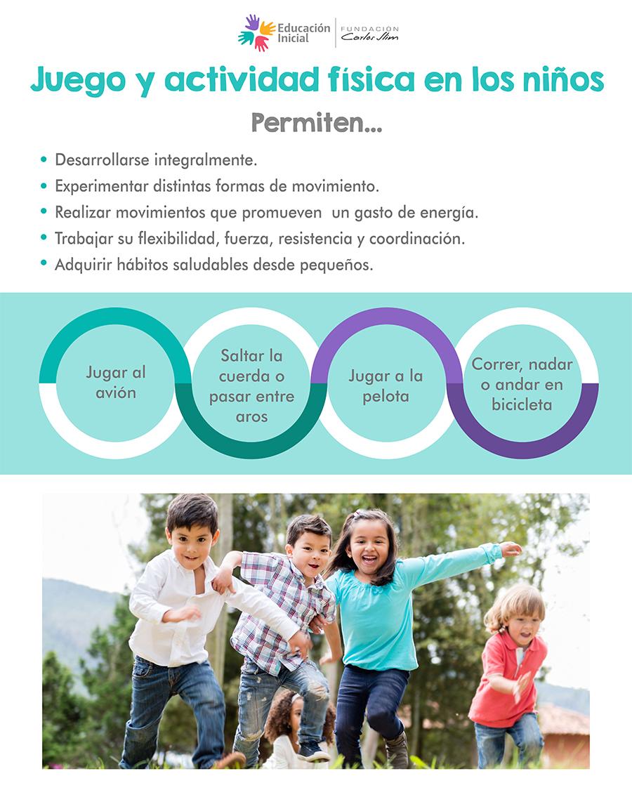 Juego y actividad en los niños