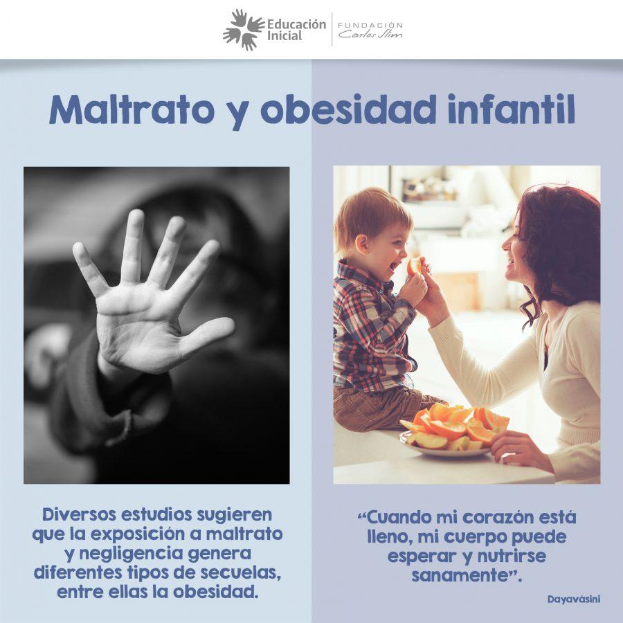 Maltrato y obesidad infantil