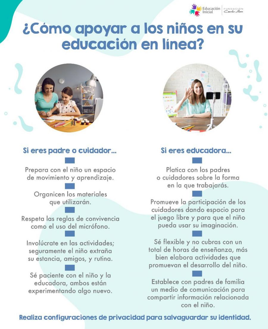 Cómo apoyar a los niños en su educación en línea