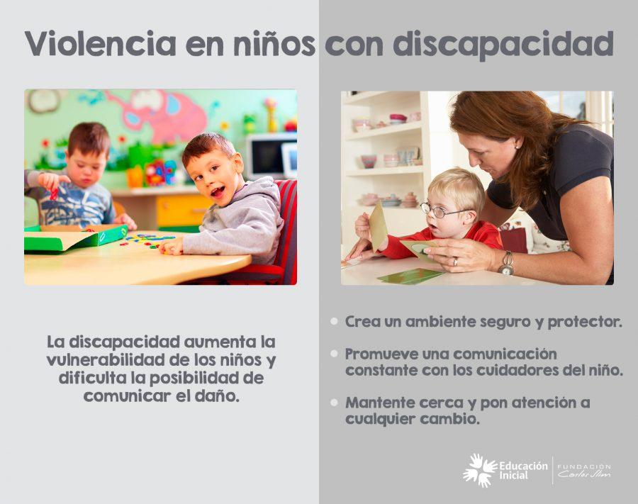 Violencia en niños con discapacidad 1