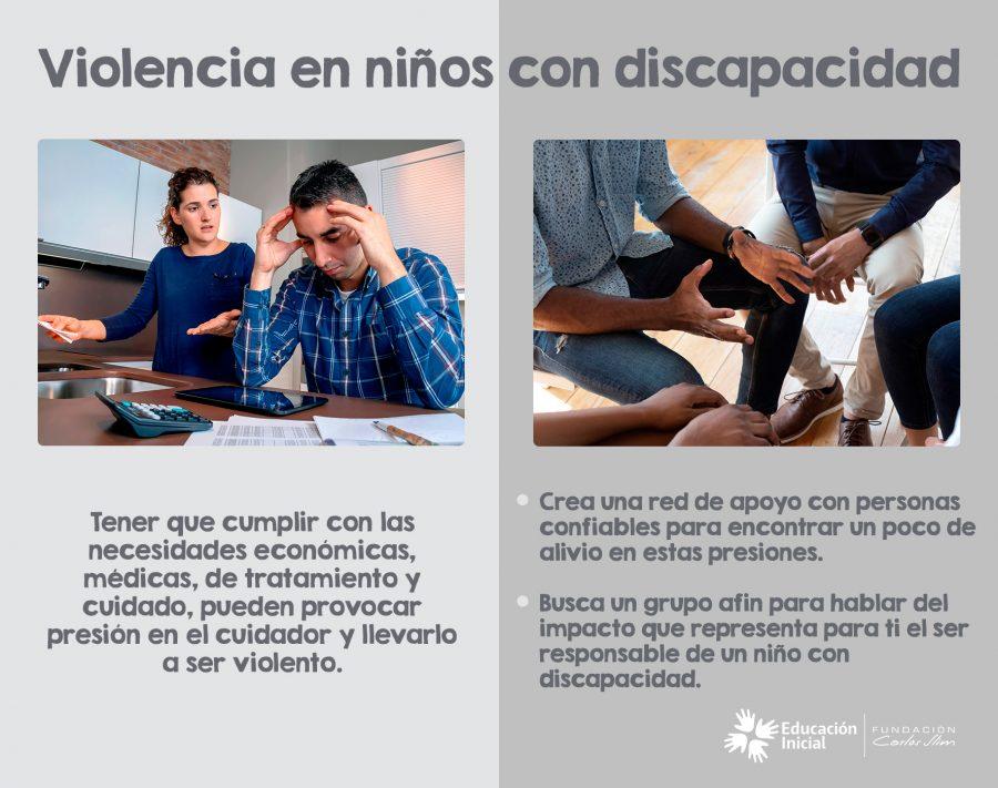 Violencia en niños con discapacidad 3