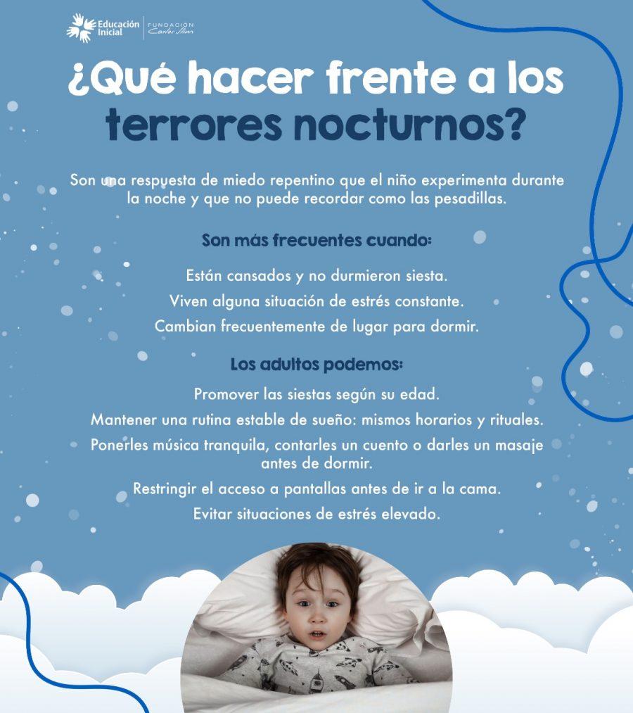 ¿Qué hacer frente a los terrores nocturnos?