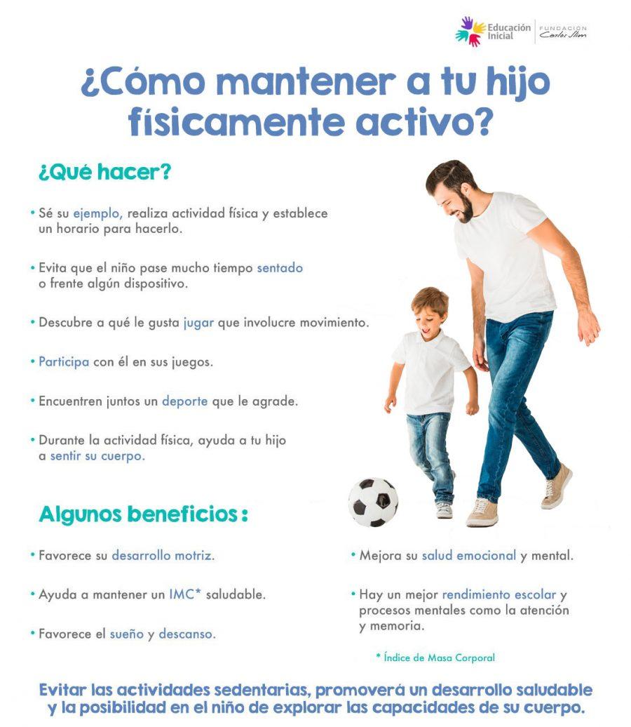 982 Cómo mantener a tu hijo físicamente activo