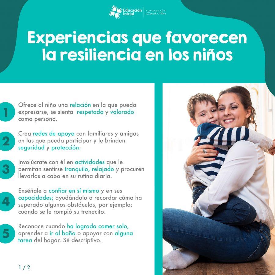 1007 Experiencias que favorecen la resiliencia en los niños