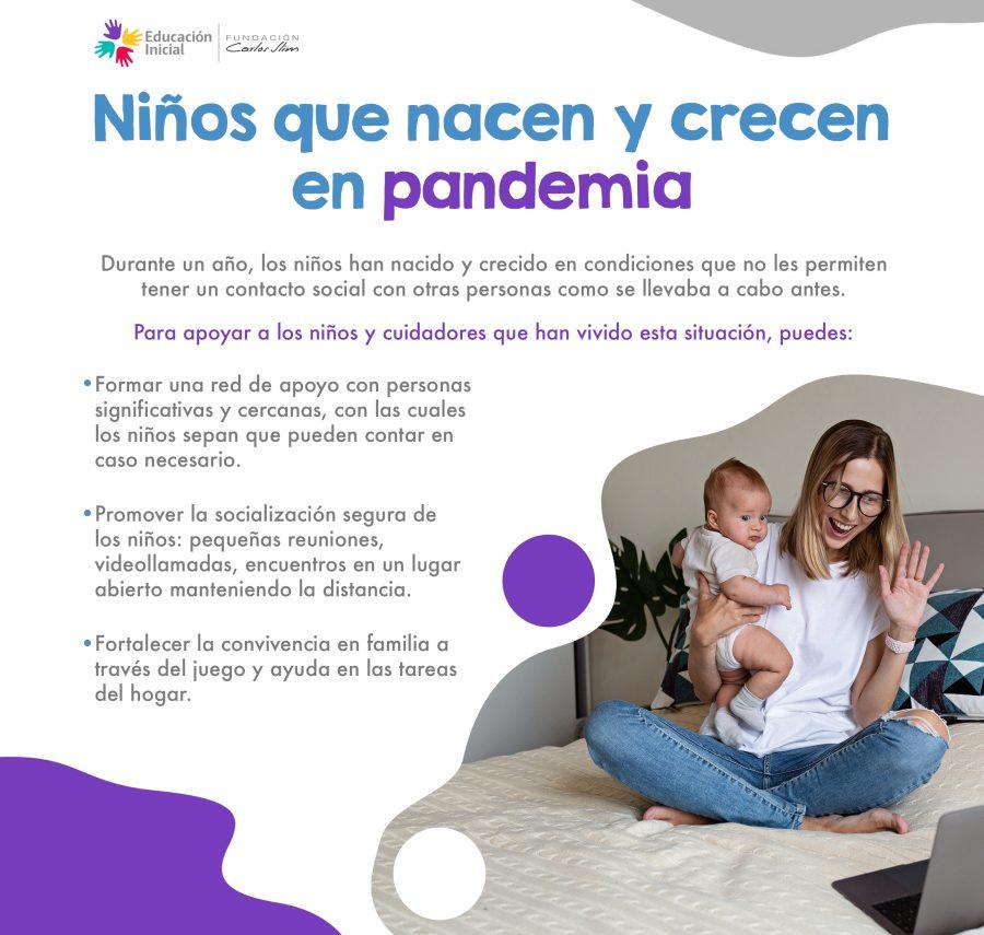 1014 Niños que nacen y crecen en pandemia