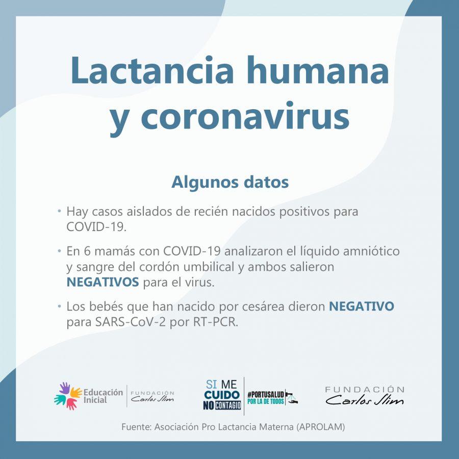 Lactancia humana y coronavirus 1