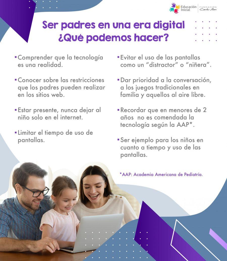 Ser padres en una era digital