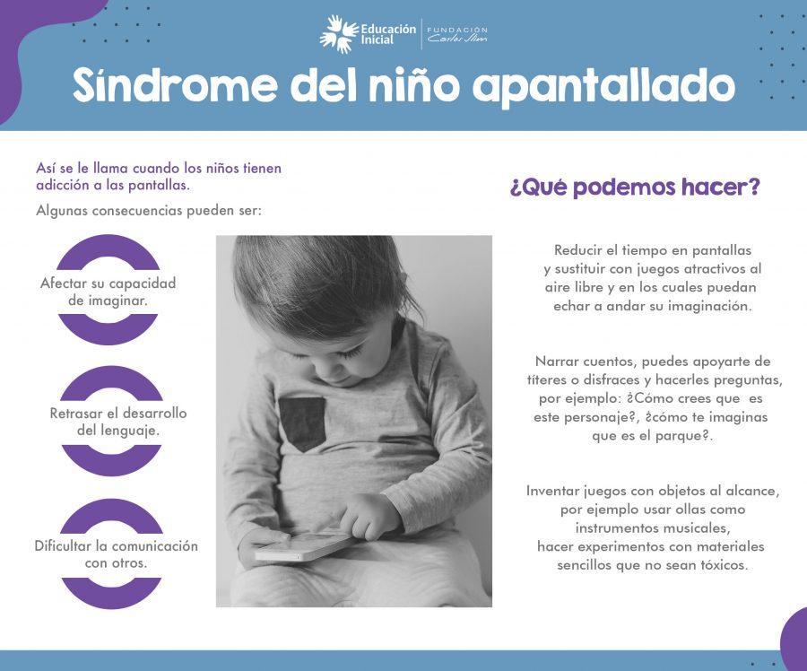 Síndrome del niño apantallado