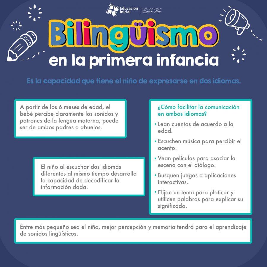 Bilingüismo en la primera infancia
